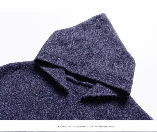ニット ふんわりやわらかニットガウチョパンツ長袖