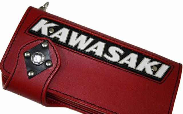 Kawasakiエンブレムインサートウォレット