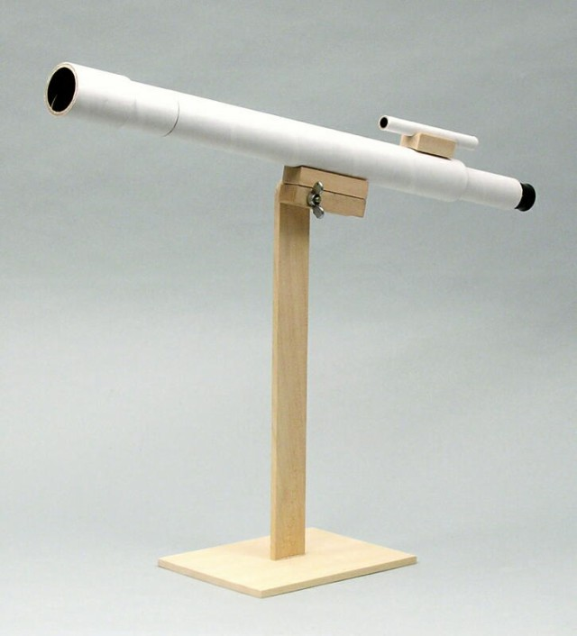 手作り天体望遠鏡