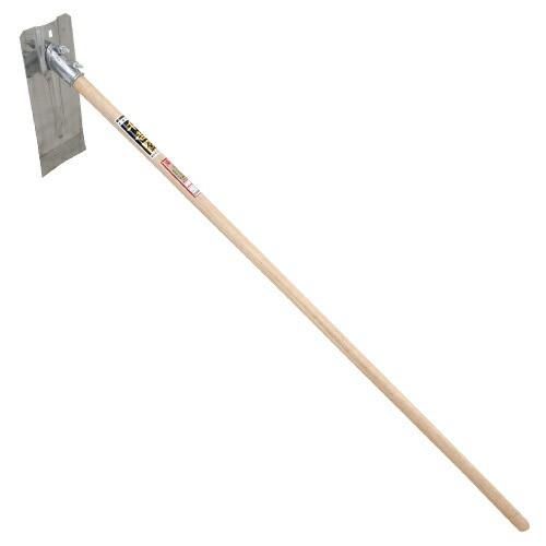 千吉‐金・ステンレス平鍬‐紀州型・55・園芸道具・鍬・地域鍬・DIYツールの画像