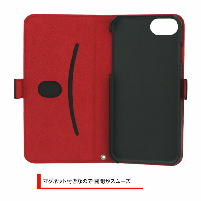 9652b5f5b1 エアージェイ TRD 公式ライセンス iPhone7 6sケース 手帳型 本革 ...