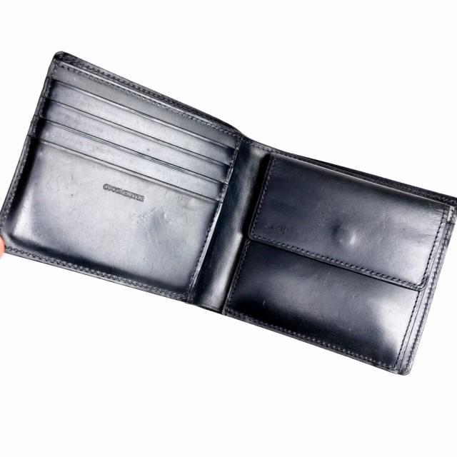 2da3916c73c0 ココマイスター COCOMEISTER 財布 ジョージブライドル バイアリーパース 二つ折り 英国セジュウィック社ブライドルレザー