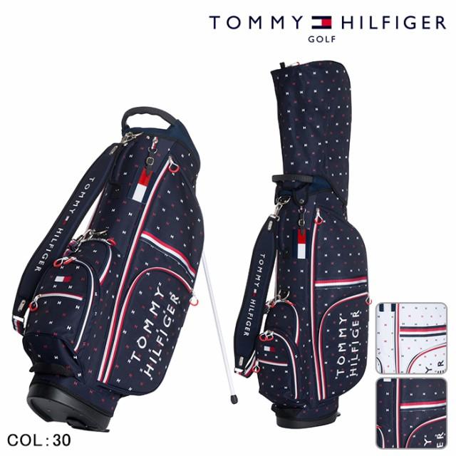 TOMMY HILFIGERトミーヒルフィガー スタンド キャディーバッグ  春夏 スタンドバッグ キャディバッグ バッグ ゴルフクラブ ゴルフ用品