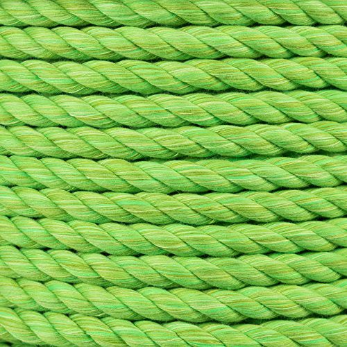 Super Soft 3 Strand Twisted Cotton Rope Camel, 1//4 Inch x 10 Feet