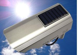 ソーラーパネルで発電