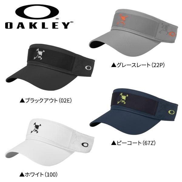 オークリー 911992JP スカル テープ バイザー