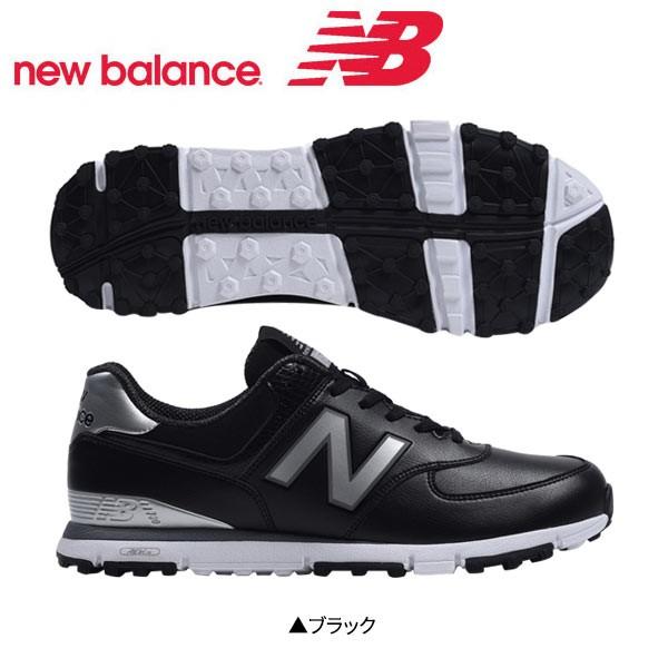 ニューバランス MGS574 ゴルフシューズ ブラック