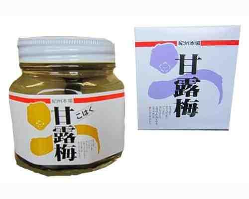 プラム食品 甘露梅(無着色) こはく 360g 3個セ...
