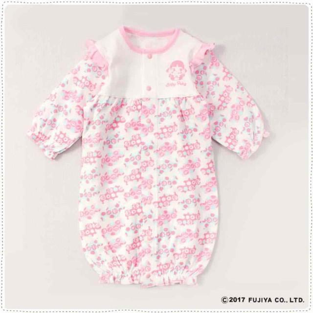 BabyPeko ベビーペコちゃん 新生児服 2WAYドレス ...