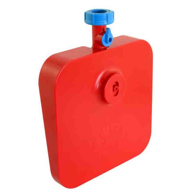 ペット用水飲み器 レッド(支社倉庫発送品)