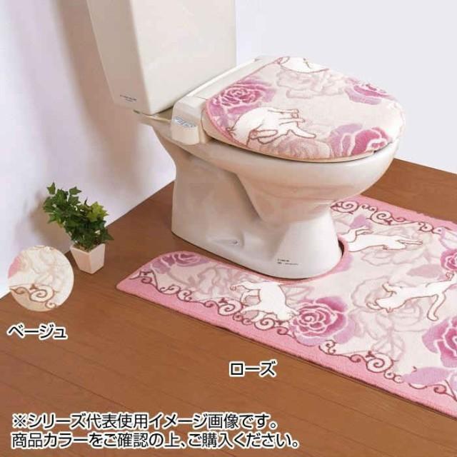 ローズ&キャット トイレふたカバー 特殊
