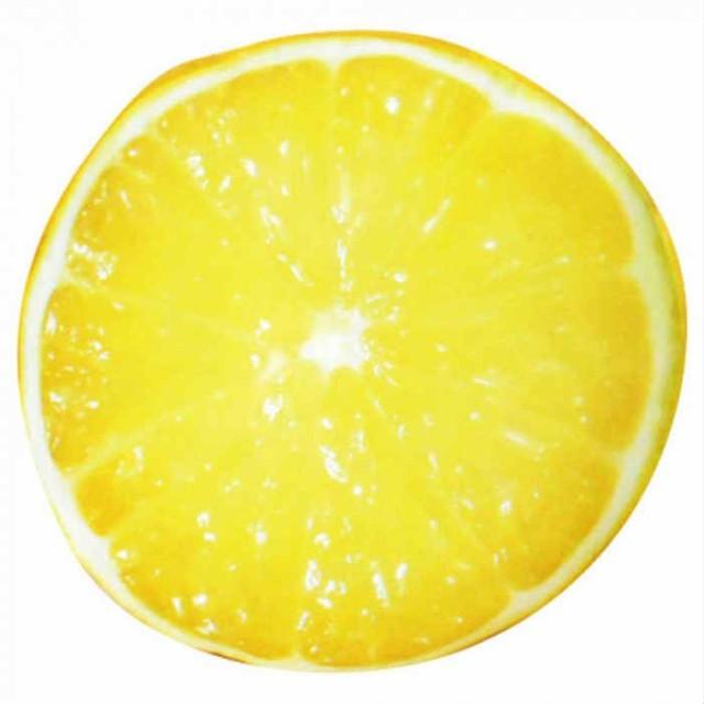 ひんやりフルーツクッション レモン 34130763