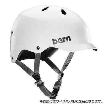bern バーン ヘルメット WATTS SATIN WHITE XXXL ...