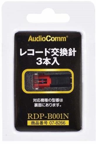 オーム電機 レコード交換針 3本入り RDP-B200N/PR...