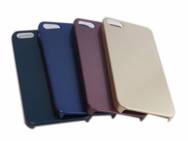 iPhone SE(第1世代)/5S/5 ジャケット 背面 PC ハ...