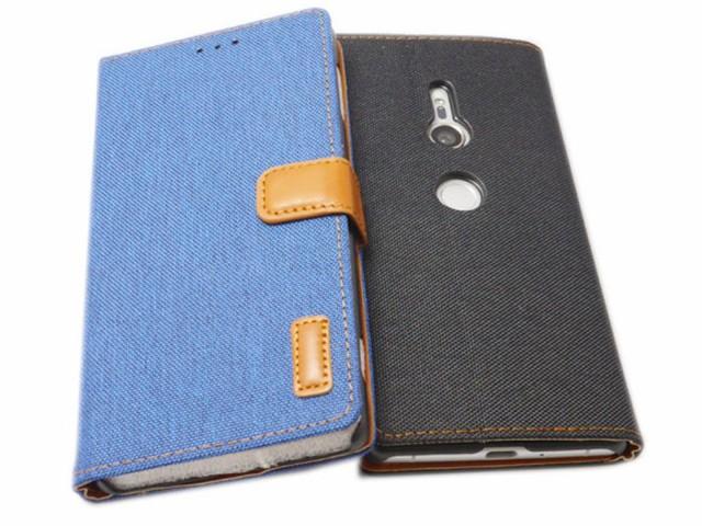 Xperia XZ2 SO-03K SOV37 702SO 手帳型 フリップ ...