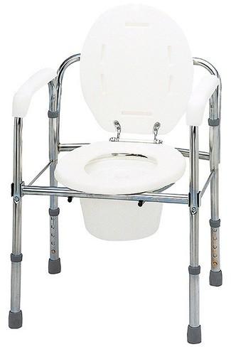 トイレチェア 折りたたみタイプ T-8303 ポータブ...