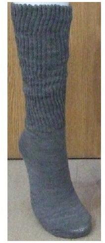 糖尿病用靴下 暖 38