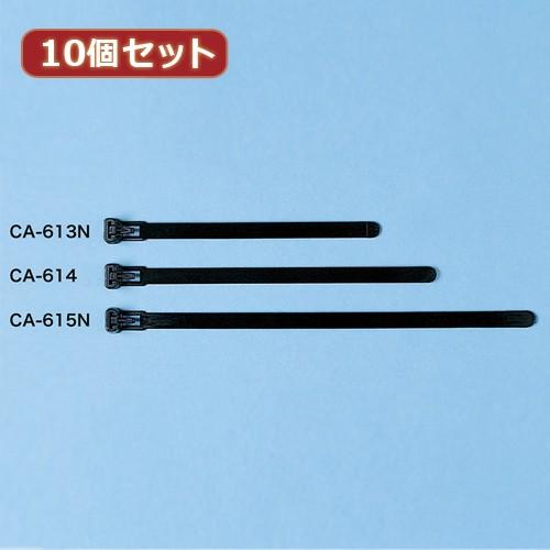 【10個セット】 サンワサプライ ケーブルタイ(ワ...
