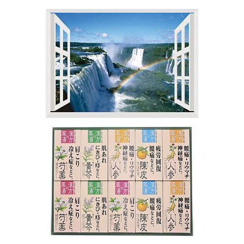昭プラ お風呂のポスター 世界遺産 イグアスの滝 ...