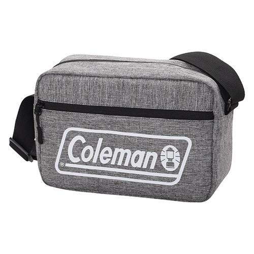 Coleman カメラショルダーバッグMS メランジグレ...
