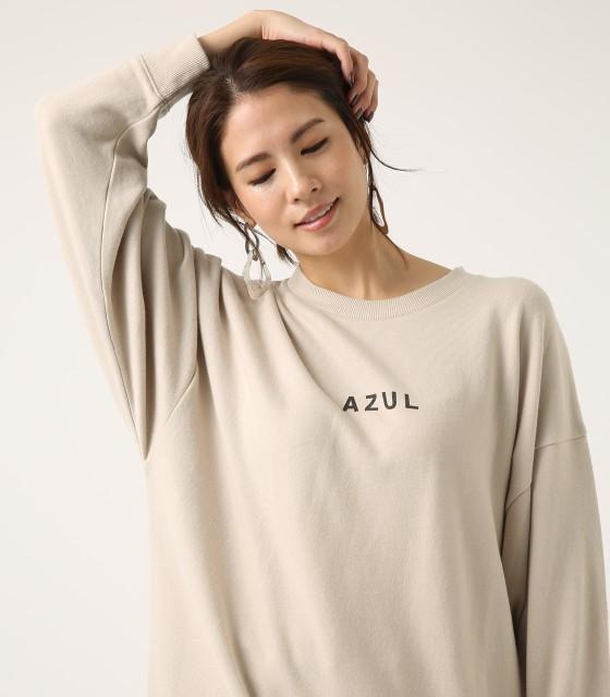 【AZUL BY MOUSSY】AZUL SWEAT TUNIC WOMENSレデ...