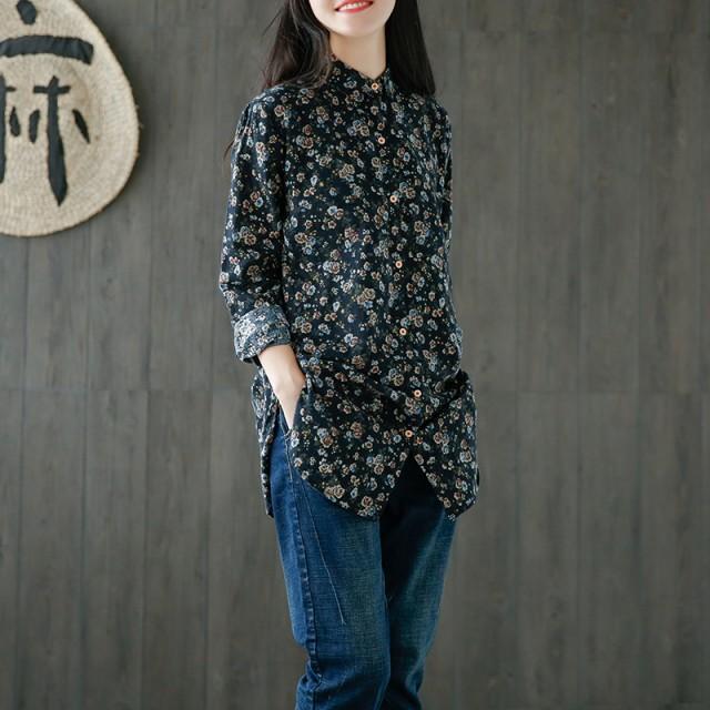 花柄ワンピース キレイ シンプル カジュアル 女子...