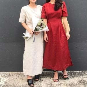 コットン素材 ワンピース ドレス ホワイト レ...