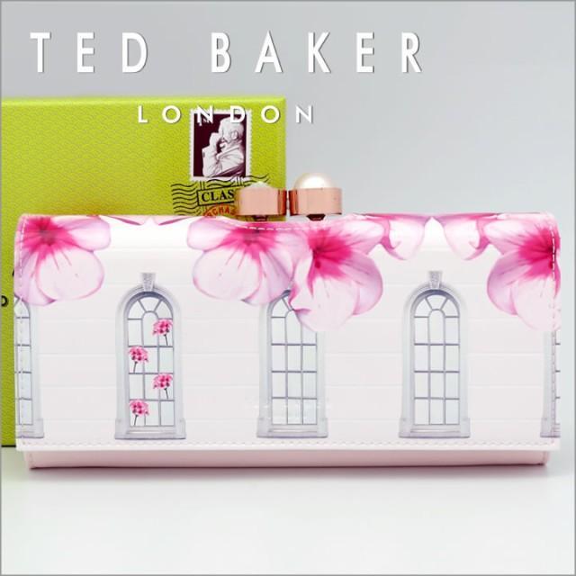 テッドベーカー 長財布 TED BAKER がま口財布 レ...