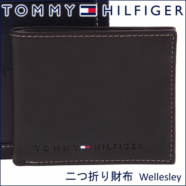 トミーヒルフィガー 二つ折り財布 TOMMY HILFIGER...