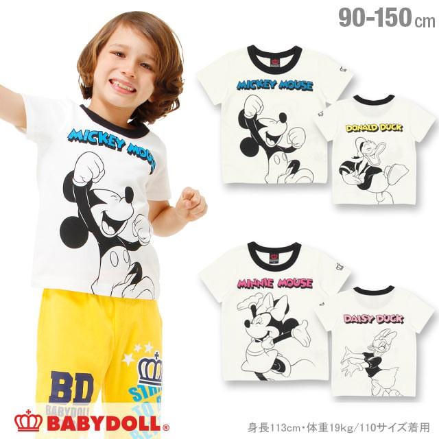 7/20〜SS_SALE50%OFF ディズニー Tシャツ ベビー...