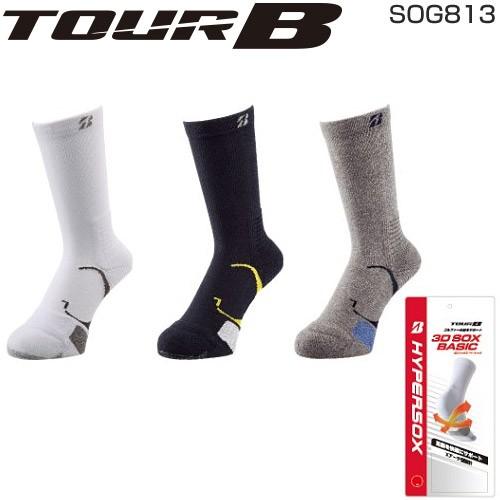 ブリヂストン ゴルフ TOUR B メンズ 3Dソックス ...
