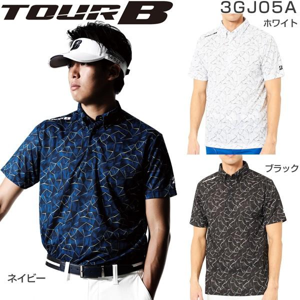 ブリヂストン TOUR B メンズ ゴルフウェア 高通気...