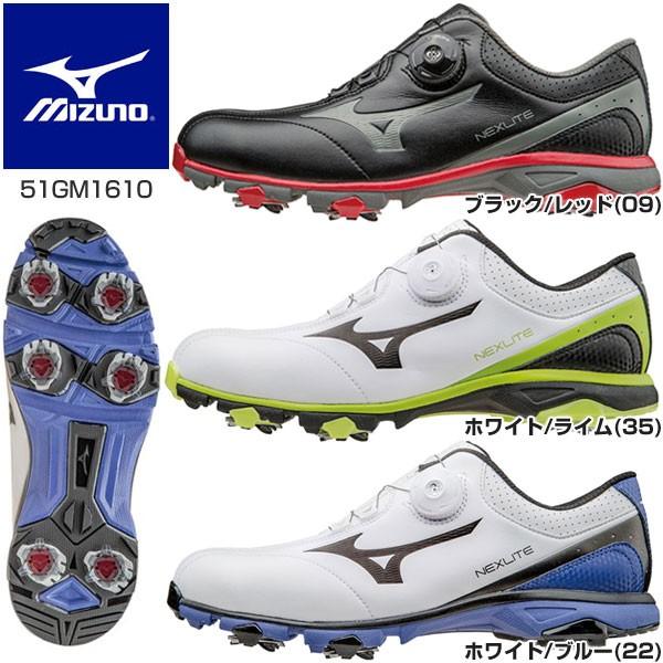 ミズノ ネクスライト 003 Boa ゴルフシューズ 51G...