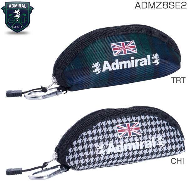 アドミラル ゴルフ チェック ボールポーチ ADMZ8S...
