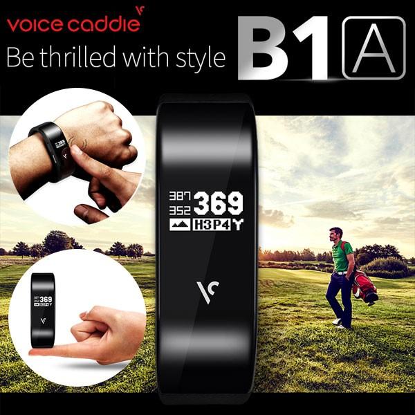 ボイスキャディ バンド型 GPS ゴルフナビ B1A