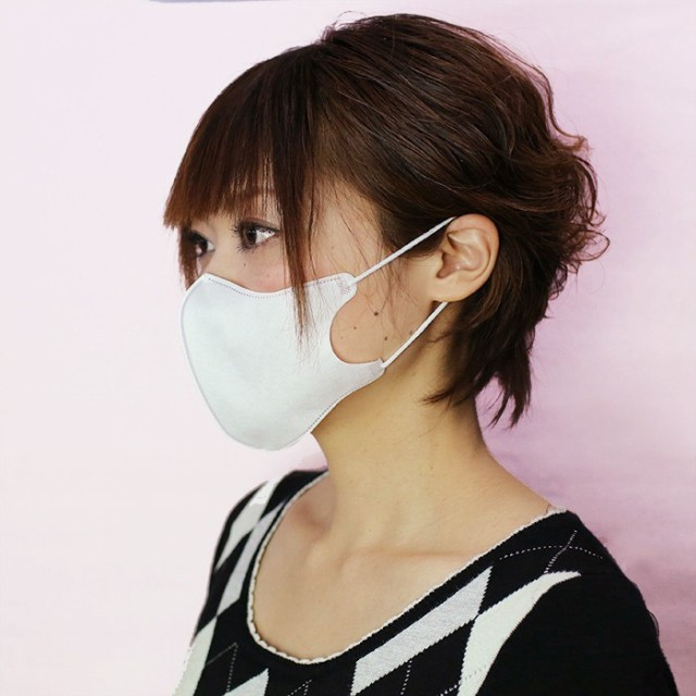 エヌ・ティ・シー 立体マスク ホワイト (お得用5...