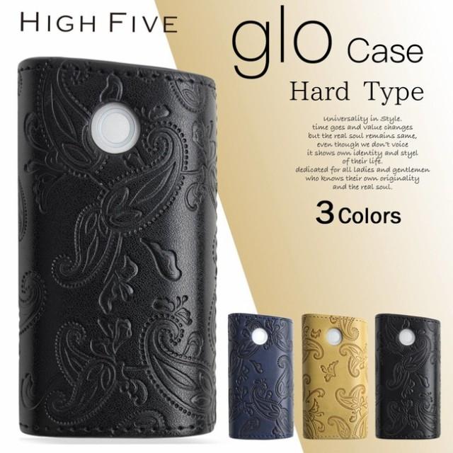 HIGH FIVE glo ハード スリーブケース ペイズリー...
