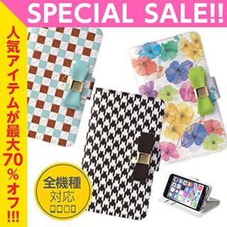 手帳スマホケース 花 デコ iphone6 plus iphone5S...