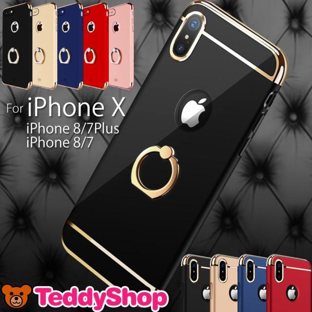 iPhone X ケース リング付き スマホケース iPhone...