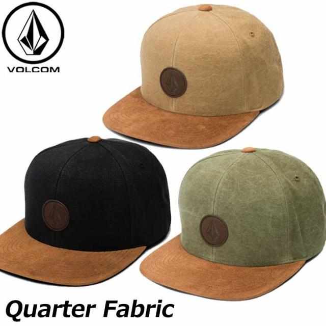 ボルコム キャップ volcom メンズ Quarter Fabric...
