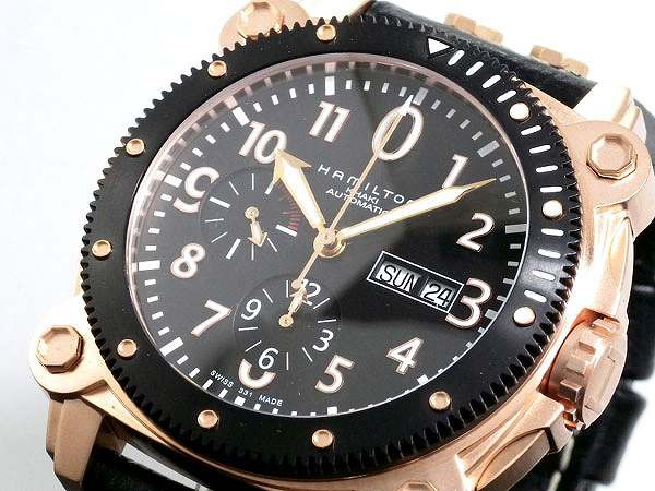 腕時計 メンズ ハミルトン HAMILTON カーキ KHAKI...
