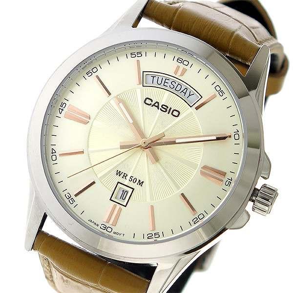 腕時計 ユニセックス カシオ CASIO クオーツ MTP-...