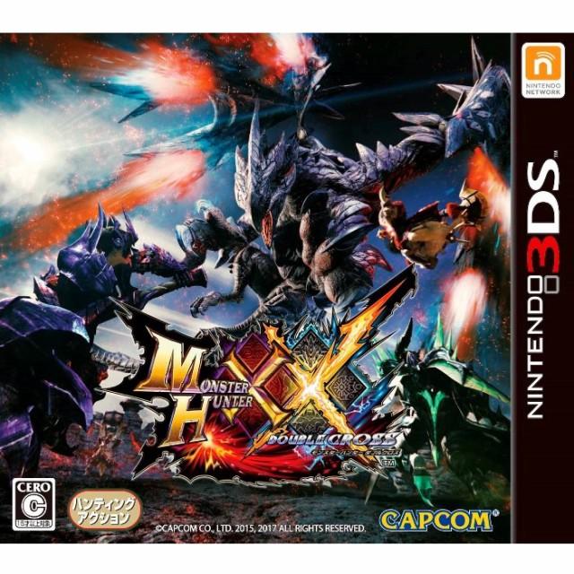 モンスターハンター ダブルクロス 3DS ソフト CTR...