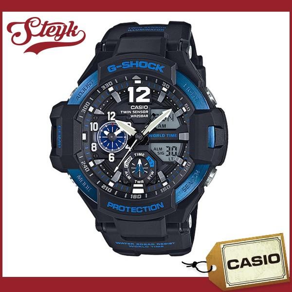 CASIO カシオ 腕時計 GA-1100-2B G-SHOCK ジーシ...