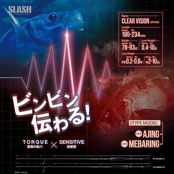 SLASH(スラッシュ) CLAER VISION(クリアビジョン...