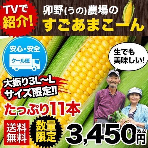 ★超人気TV番組で話題★ 卯野農場のすごあまこー...