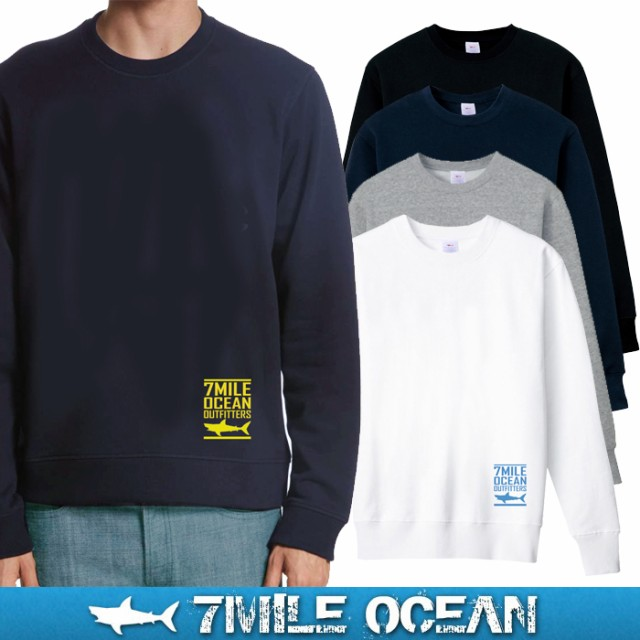 7MILE OCEAN メンズ トレーナー スウェット スエ...
