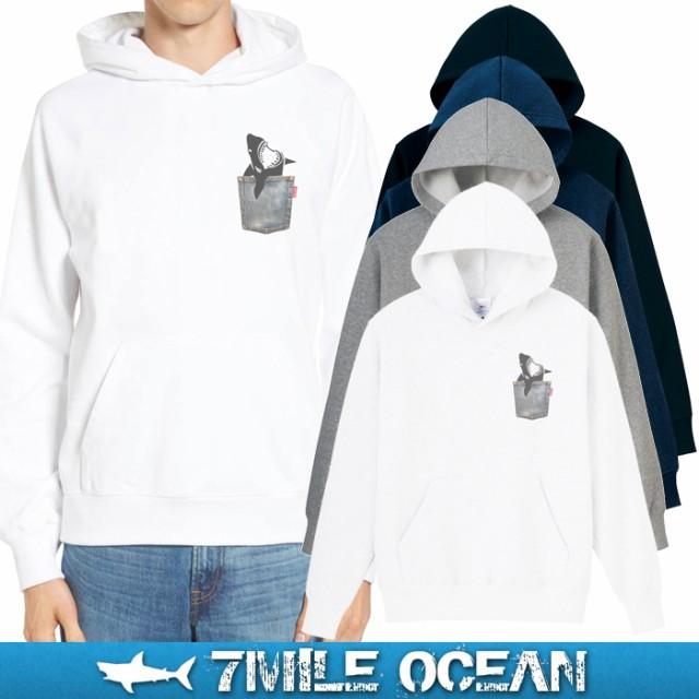 7MILE OCEAN メンズ パーカー プルオーバー スウ...
