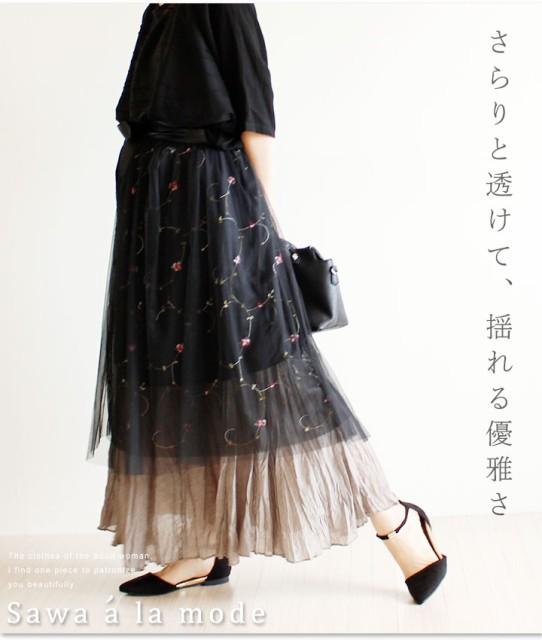 透けて魅せる可愛いスカート mode-1138 Sawa a la...